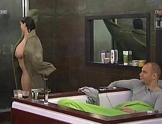 Blonde masturbating in the shower - CamsBlvd.eu