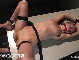 Blonde cutie Annie Jackson pleases him with black nuru massage