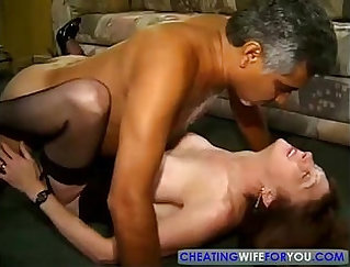 Chubby redhead guy banged in the office