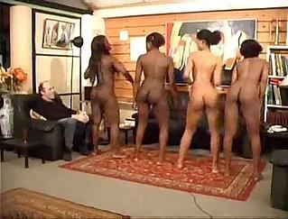 Charlee Monroe dancing naked