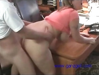 amateur office scissors and cam-sex at work