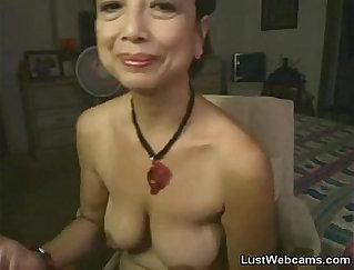 Asian Granny Banged On Cam