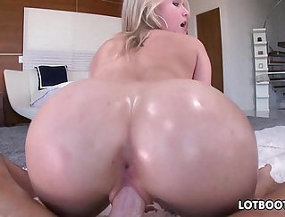 Big butt blonde whore gets fucked by the red light district cop
