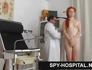 Arousing hidden camera tied female agent