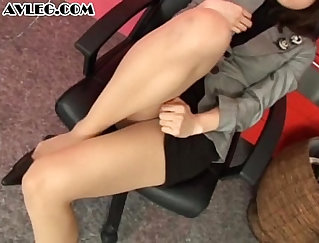 Asian Glory Thigh Curling Ice Climapse Bra and Pantyhose Via Nylon Sole Reply