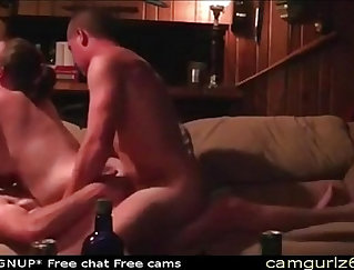 Amateur dp on web cam with