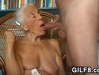 Best blow job homemade Thank grandma for that ass