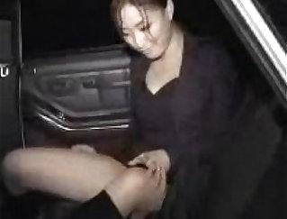 Athletic bootyful korean ladyboy Rik Kurone rides on dick