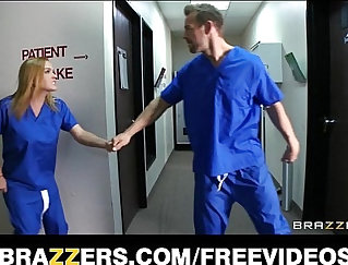 Blondie gets help from slutty doctor