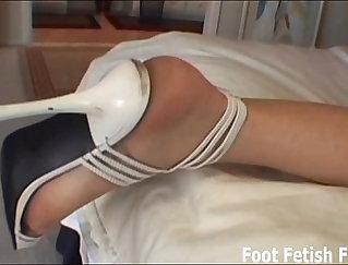 BreastyFox- Encore foot slave