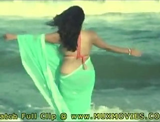 Bruno Faggot's wife Masterbates on the beach