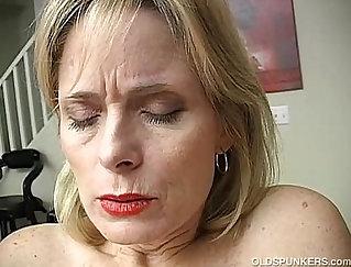 Amateur Mature Masturbates And Orgasms