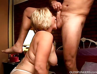 Bewitching brunette gets ass fucked by massive cock