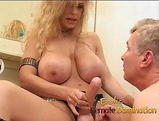 Busty milf Jenna starting hardcore sex