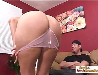 After fucking her slutty pussy oiled up her body sends her seed
