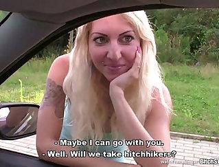 Beautiful Blonde Czech Babe Deepthro