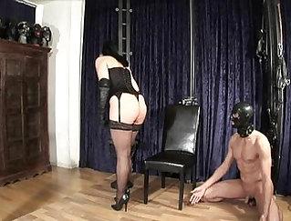 Beautiful Amazonette Anal With Mistress