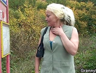 Armpit Slut Granny Blow-By-Nice