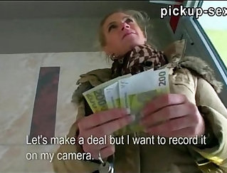 Amateur sexy blonde czech babe