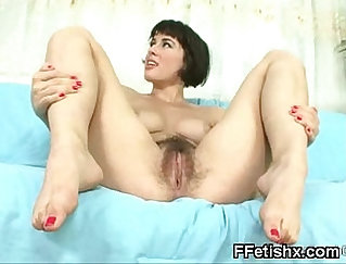 Caught her foot fetish Billy West s fuckin cock
