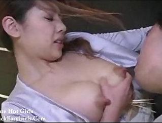 Asian Slut Gets Fucked On The Kitchen