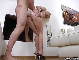 Blonde Teen Getting Fucked And Doing Anal With A BBC