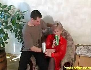 Big mom tit sex and boner orgy