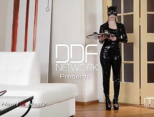 Anal Missionary Device On Cam For Stunning Femdom Sluts