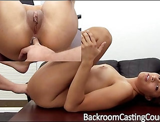 Assfucked modeling agent at his casting