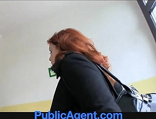 Curly redhead beauty called Pocopocolra loves anal ramming