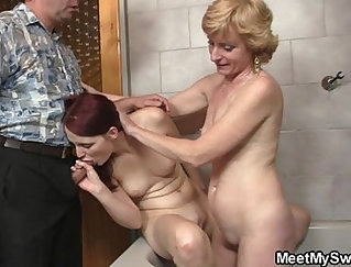 Bang mother Alyssa Branch pussy licked and fucked