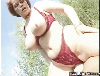Bitch Mom Takes First Brutal Cock Riding